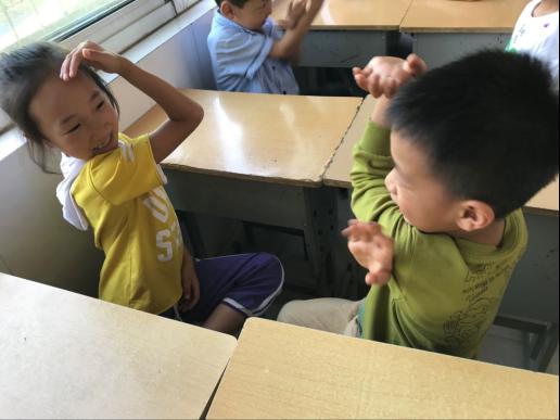 一年级课间游戏团体辅导活动